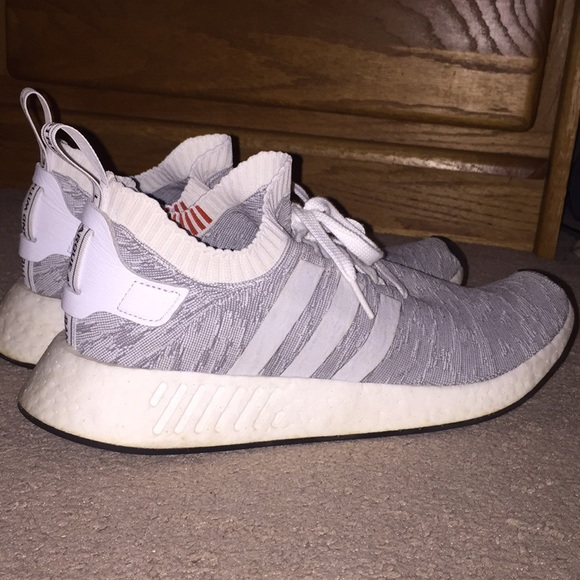 Adidas Shoes Mens Whitegreyorange Tiger Camo Nmd R2 Poshmark